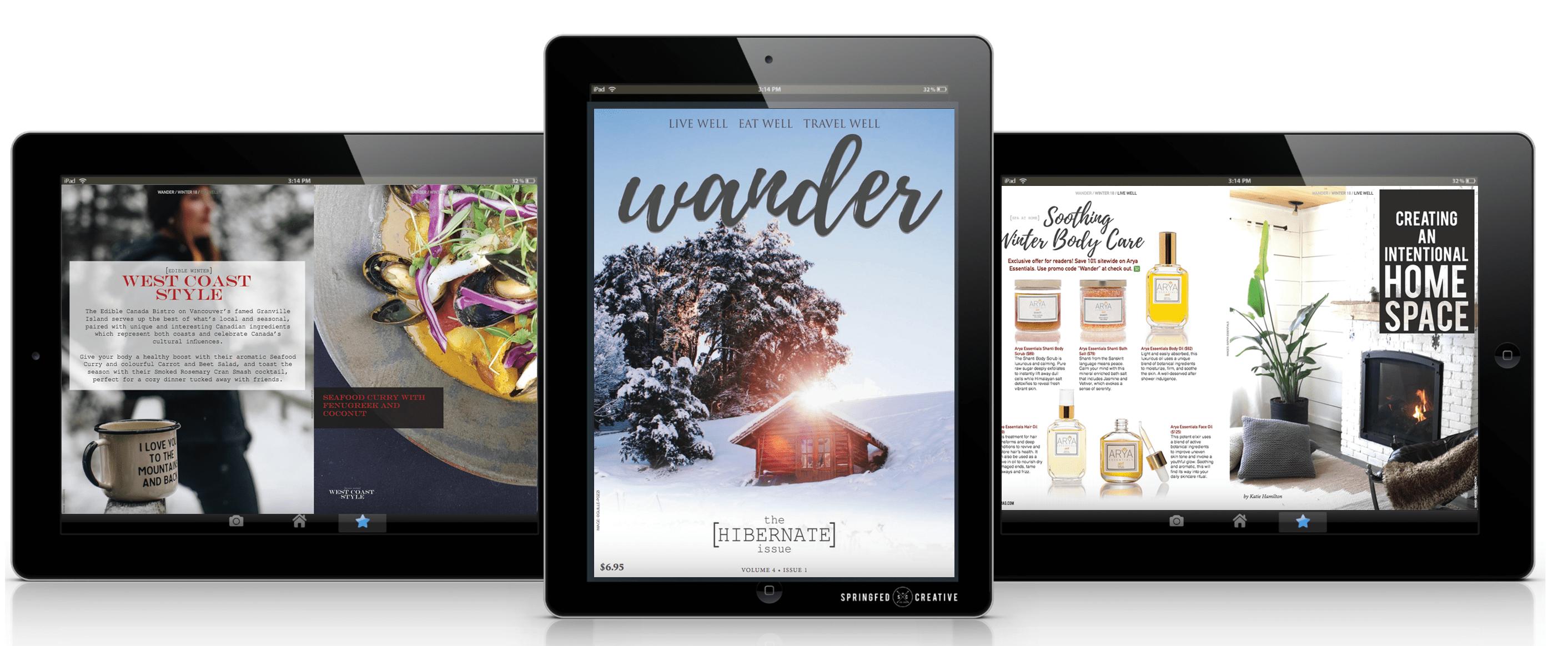 Wander Wellness Travel Magazine